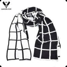 Men′s High Quality Elegant Business Style Grid Scarf
