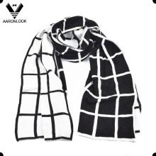 Элегантный сетчатый шарф стиля мужчины высокого качества