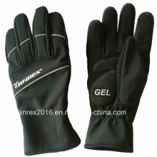 Warm Windproof Winter Outdoor Full Lining Sports Glove-Jg11L016