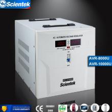 Relais avec transformateur toroïdal Stabilisateur de tension AVR Régulateur de tension automatique 10000VA