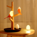 Standing Wooden Table Lamp