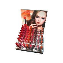 Acrylic Lipsticks Custom Big Space Display Showcase