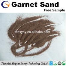 Grenaillage au sable grenat de 80 mesh pour la préparation de la surface