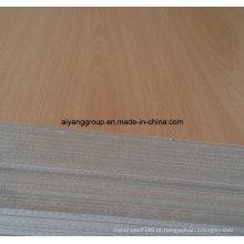 Melamina alta brilho / UV-revestido MDF para móveis / armário