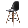 2018 Cheap New Design PP Seat Beech Wood Leg Restaurant Bar Chair