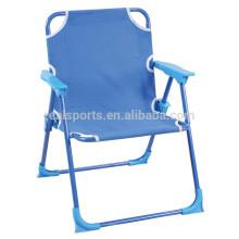 Crianças novas do projeto que dobram a cadeira portátil fácil da cadeira de praia para crianças