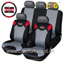 Housse de siège d'auto avec tissu PU
