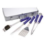 4pcs stainless steel bbq utensil tool
