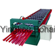 Bh Corrugated Sheet Roll Forming Machine for Construction
