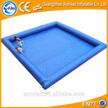 Venta al por mayor piscina inflable cuadrada grande / grandes piscinas inflables