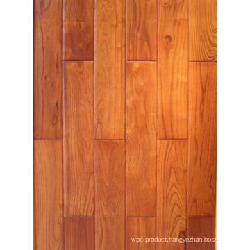 Hand Scraped Chinese Teak (robinia) Engineered Hardwood Flooring