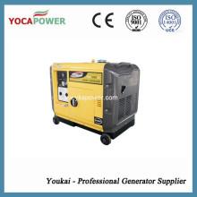 Мощный 186fae дизельный двигатель 5kVA Звукоизоляционный генератор