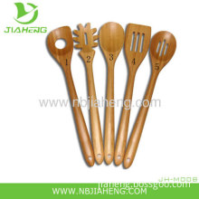 Eco-friendly Bamboo Tableware Spoons