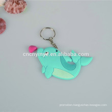 Promotional cheap wholesale soft pvc keyring