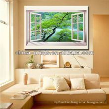 Canvas Photo Printing Wholesale,Glass Painting Natural Scenery