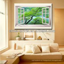 Impressão De Fotografias De Tela Atacado, Pintura De Vidro Cenário Natural