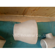 Réducteur concentrique de raccordement de tuyaux en alliage d'aluminium