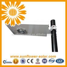Luz solar de jardín integrada / Todo en uno Luz de calle solar con sensor de movimiento