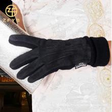 2016 nouvelle mode, femmes, porc, suède, écran tactile, gants en cuir