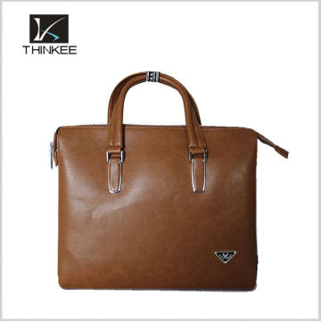 Online Shop China Custom Business News Gentlemen Leather Handbag