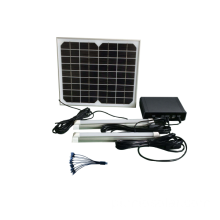 o Camping kit painel solar