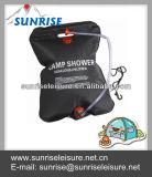 81058-A# 5 Gallon Capacity PVC portable Solar Camping Shower