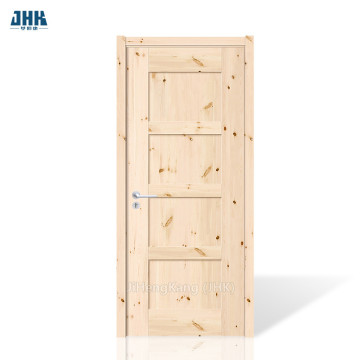 JHK Single Solid Wood Slab Door