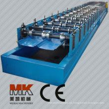 wuxi trapezoidal panel de techado que forma la máquina