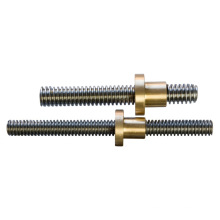 Stainless Steel Trapezoidal Screws and Nuts