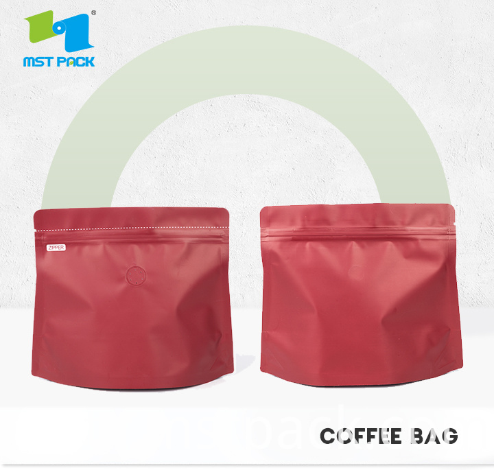 COFFE BAG WITH DEGASSING VALVE