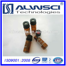 8mm Screw cap Shimadzu HPLC Vials with white patches