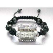 Novos produtos fornecedores de china crystal shamballa Man's Watch Pulseiras