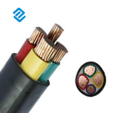 4 cores Power Cable Underground Industrial Construction