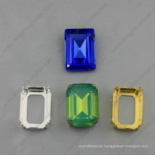 Quadrado Fantasia Pedras Strass Beads Jóias
