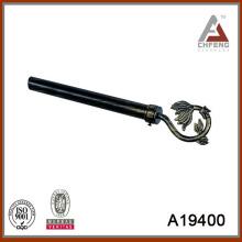 A19400 poste decorativo de la cortina, sistema de la barra de la cortina del metal, accesorios de la barra de la cortina