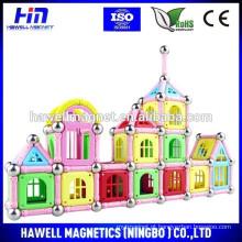 Brinquedos de conexão magnética para crianças