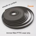 PTFE заполненное бронзой носить полосы