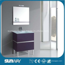 Modern MDF Bathroom Furniture with Sink (SW-1501)