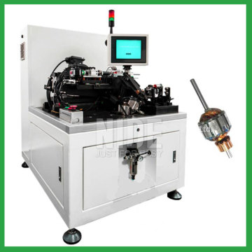 Semi-Auto armature dynamic balancing testing machine for motor rotor testing