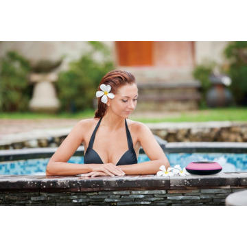 Floating Bluetooth Speaker with Dazzling Light