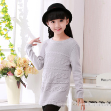 hot selling winter girl wear cashmere christmas sweater kids