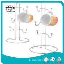 metal cup holder rack,coffee cup rack,mug holder rack