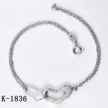 Mode Silber Micro Pave CZ Einstellung Schmuck (K-1836. JPG)