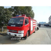 Venda quente caminhão de combate a incêndio, caminhão de fogo de 3 toneladas mini