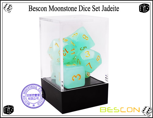 Jadeite Dice Set-3
