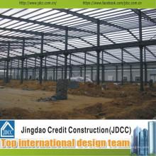 Armazém e oficina de estrutura de aço profissional e de alta qualidade