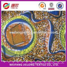 хлопок набивные ткани для одежды/крышка стула/косынка/занавеса и т. д. печать воск ткань