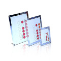 Hot Sales Clear Acrylic Poster Display Frame, Acrílico Signage Block