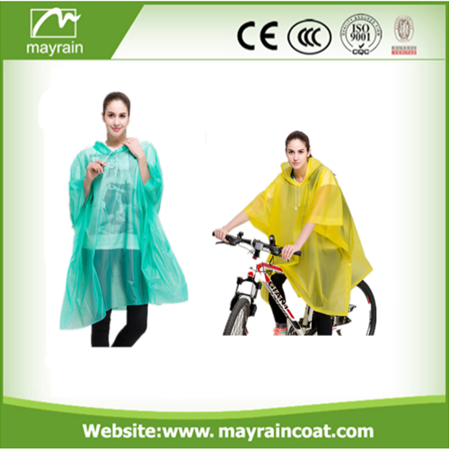 Disposable Yellow Poncho