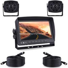 Sistema de cámara de respaldo CMOS con cable